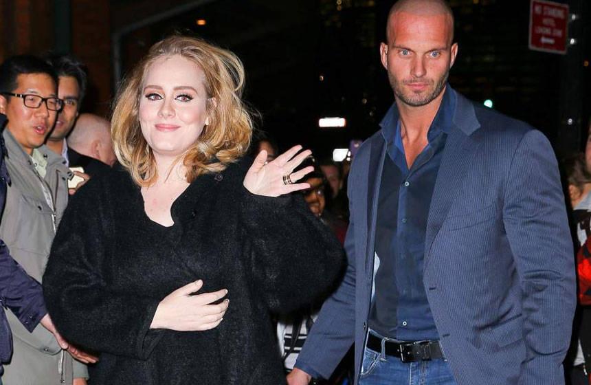 Guardaespaldas de Adele causa furor