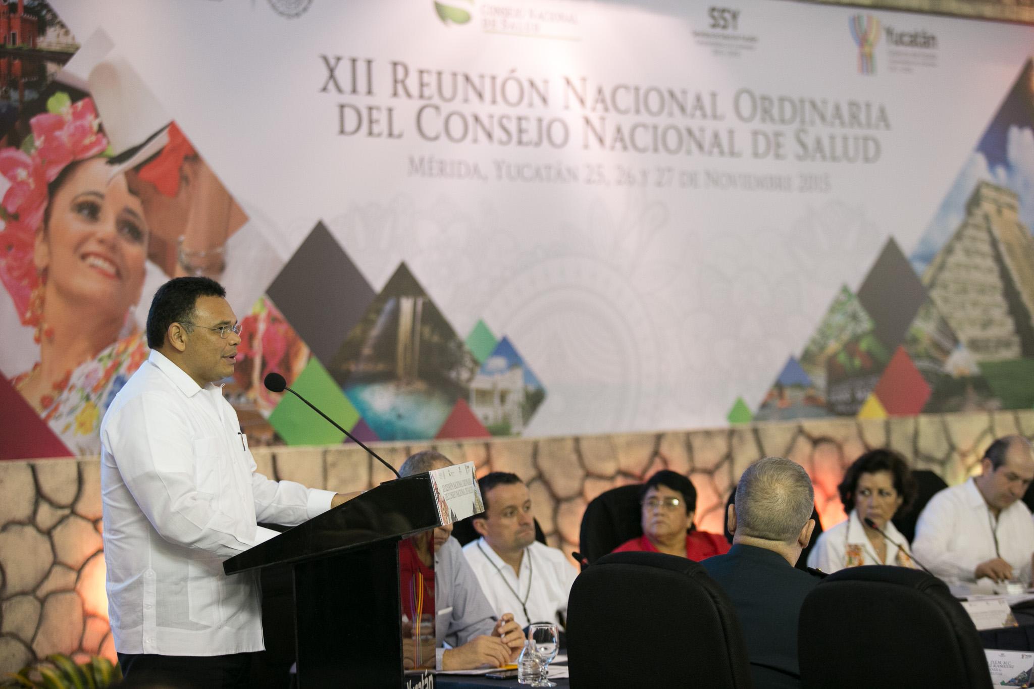 Consejo Nacional de Salud sesiona en Yucatán