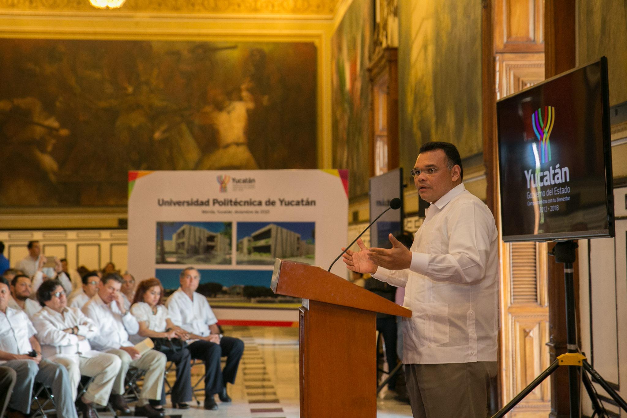 Construcción de Universidad Politécnica de Yucatán, a partir de enero