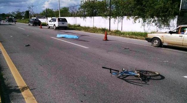 Fallece joven ciclista en carretera Mérida-Valladolid