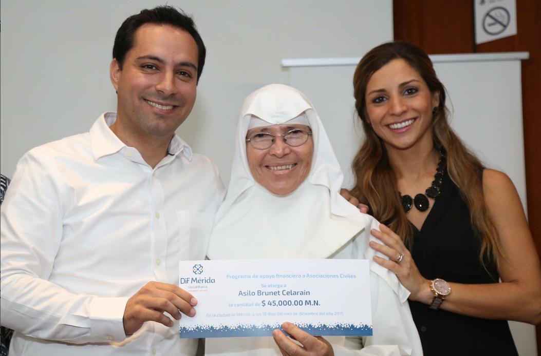 Reconocen labor de organizaciones altruistas en Mérida