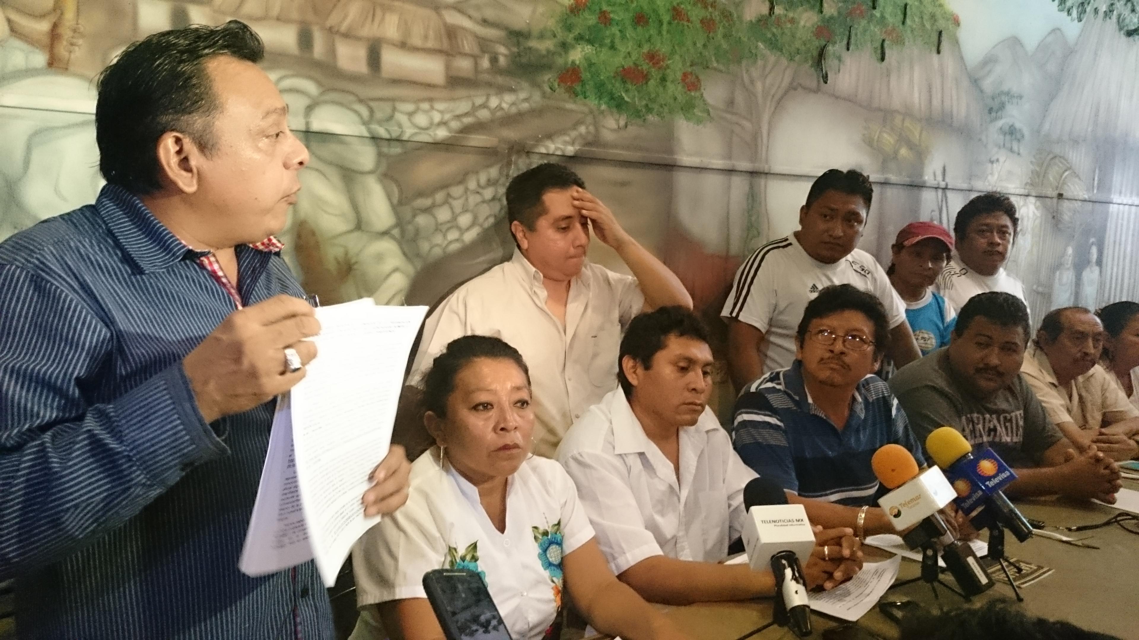 Defienden sus espacios en Chichén Itzá