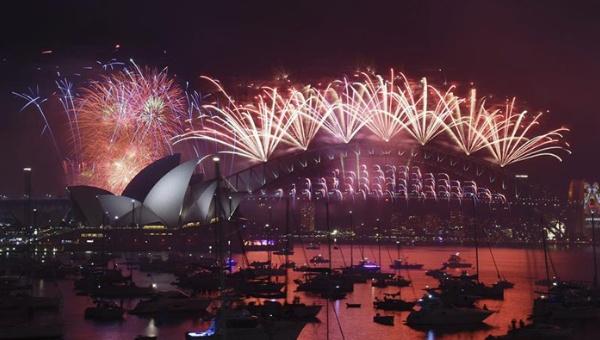 Adiós al 2015: Varios países del mundo reciben el Año Nuevo
