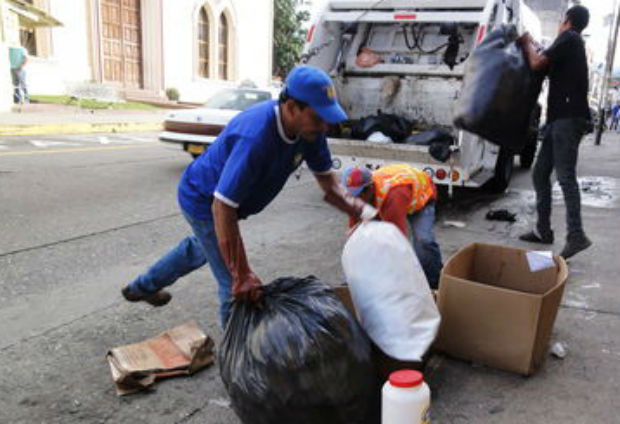 Recolección de basura y otros servicios para este lunes