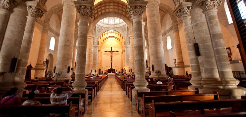 Hallan croquis más antiguo de Catedral de Mérida