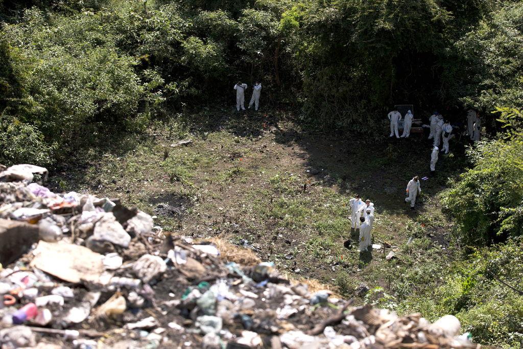 No hubo incendio en basurero de Cocula: GIEI