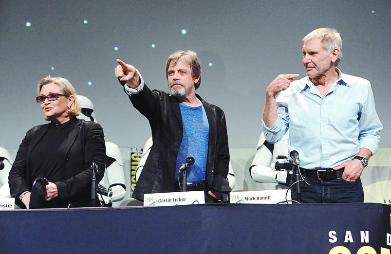 Harrison Ford gana 76 veces más que sus colegas