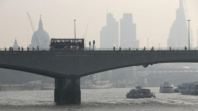 El gas tóxico que mata a casi 6 mil londinenses al año