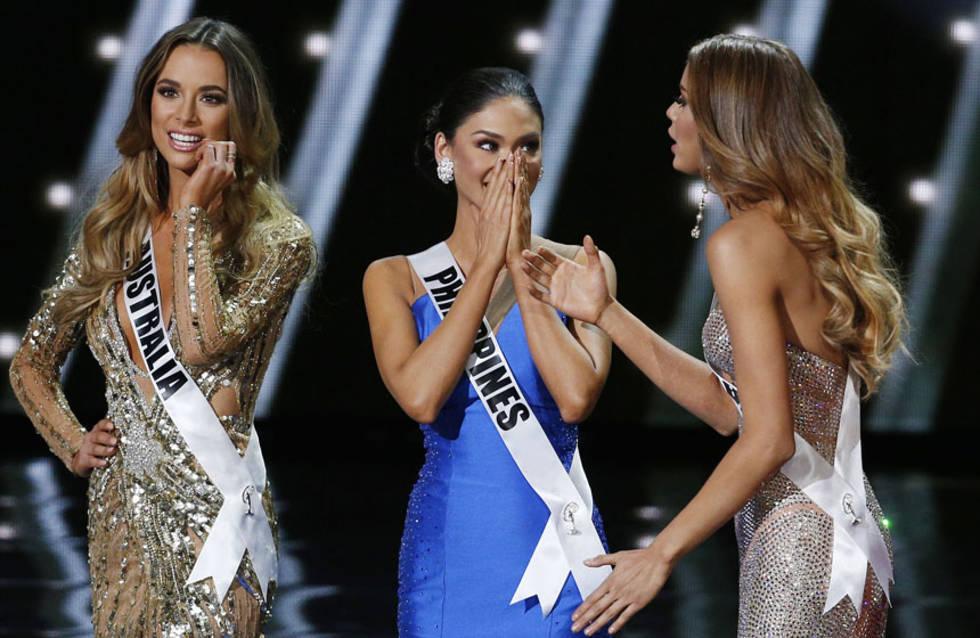 Confusión en Miss Universo, Filipinas ganadora