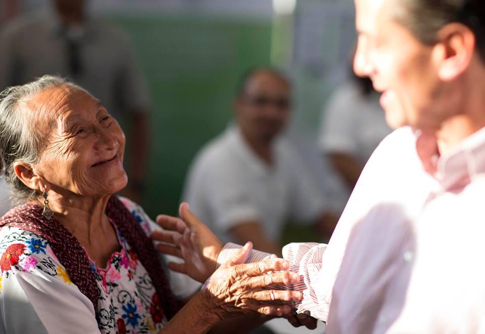 """Peña Nieto, """"como en campaña"""""""