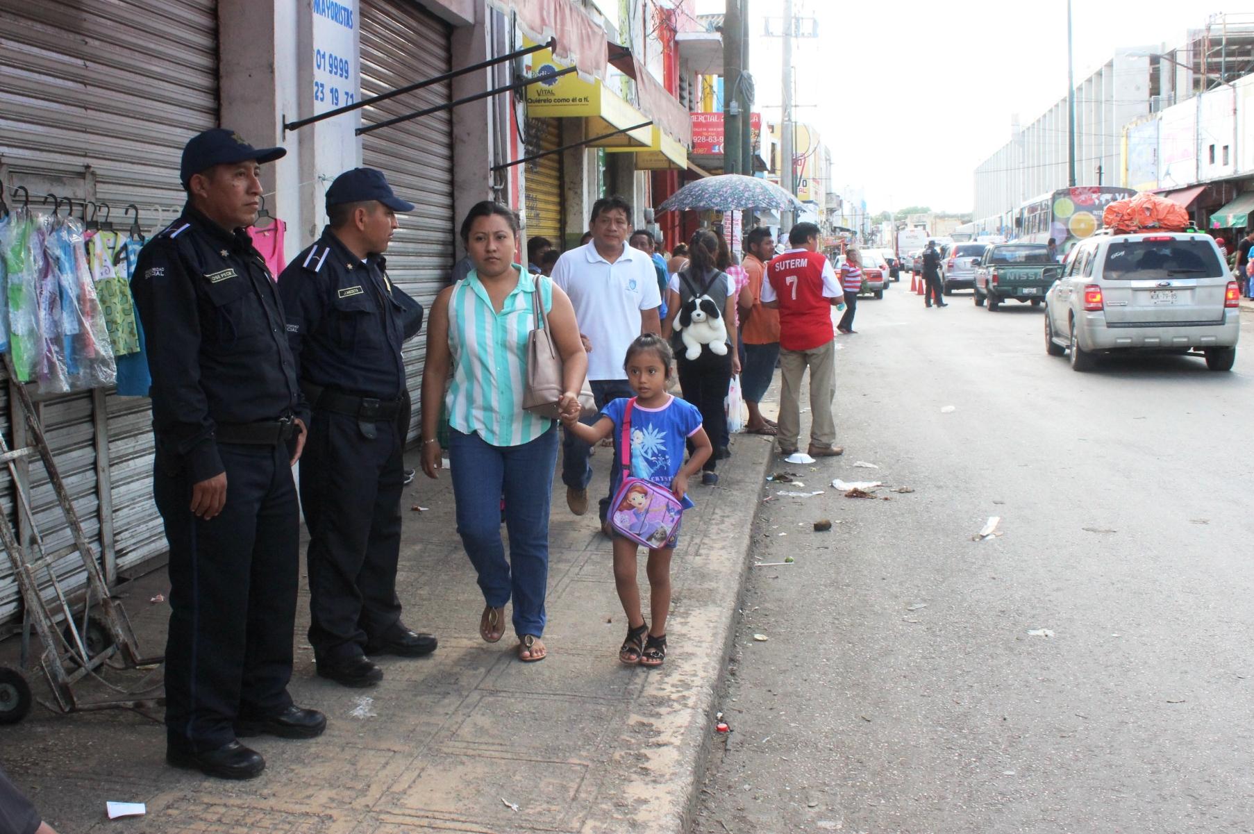 Más de 400 policías en Operativo Decembrino de Seguridad en Mérida