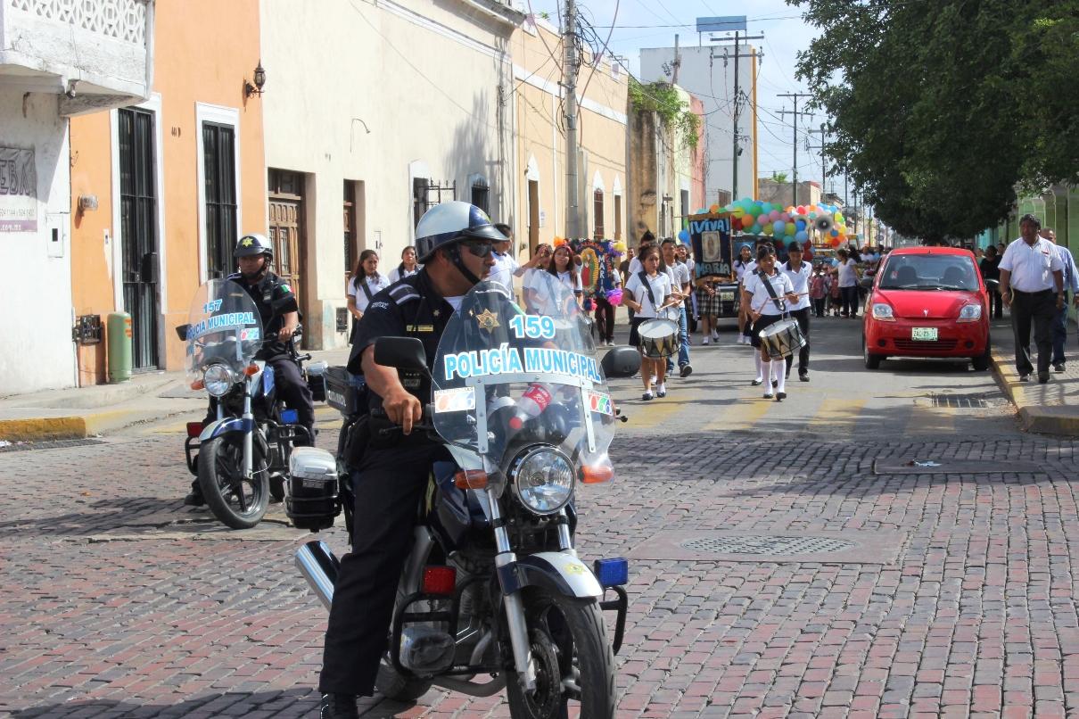 Resguardan seguridad de guadalupanos en Mérida