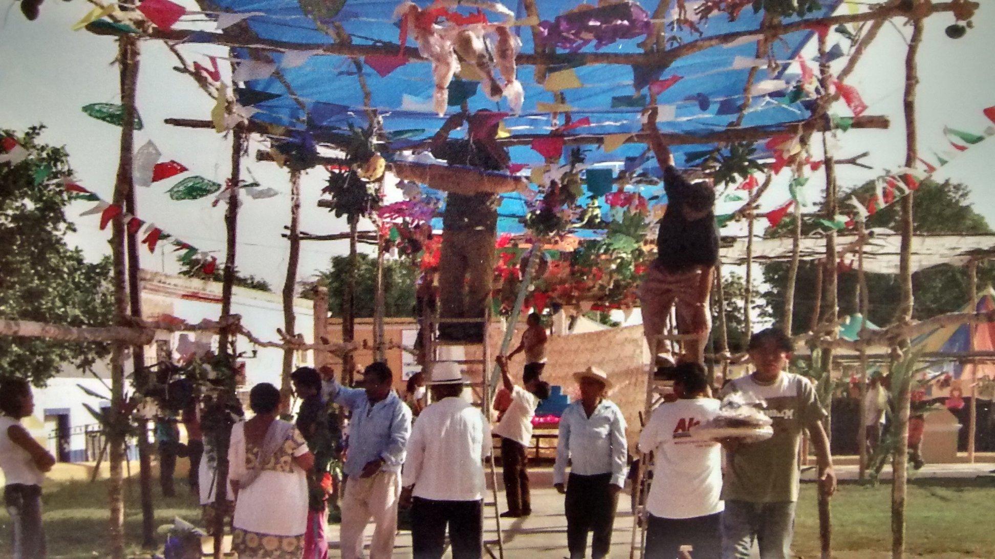 """""""La Ramada"""" de Hunucmá, patrimonio cultural inmaterial de Yucatán"""