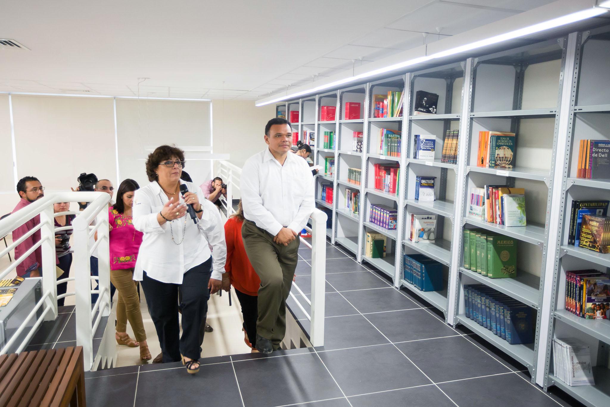 Inauguran Biblioteca Institucional de Universidad Tecnológica del Centro