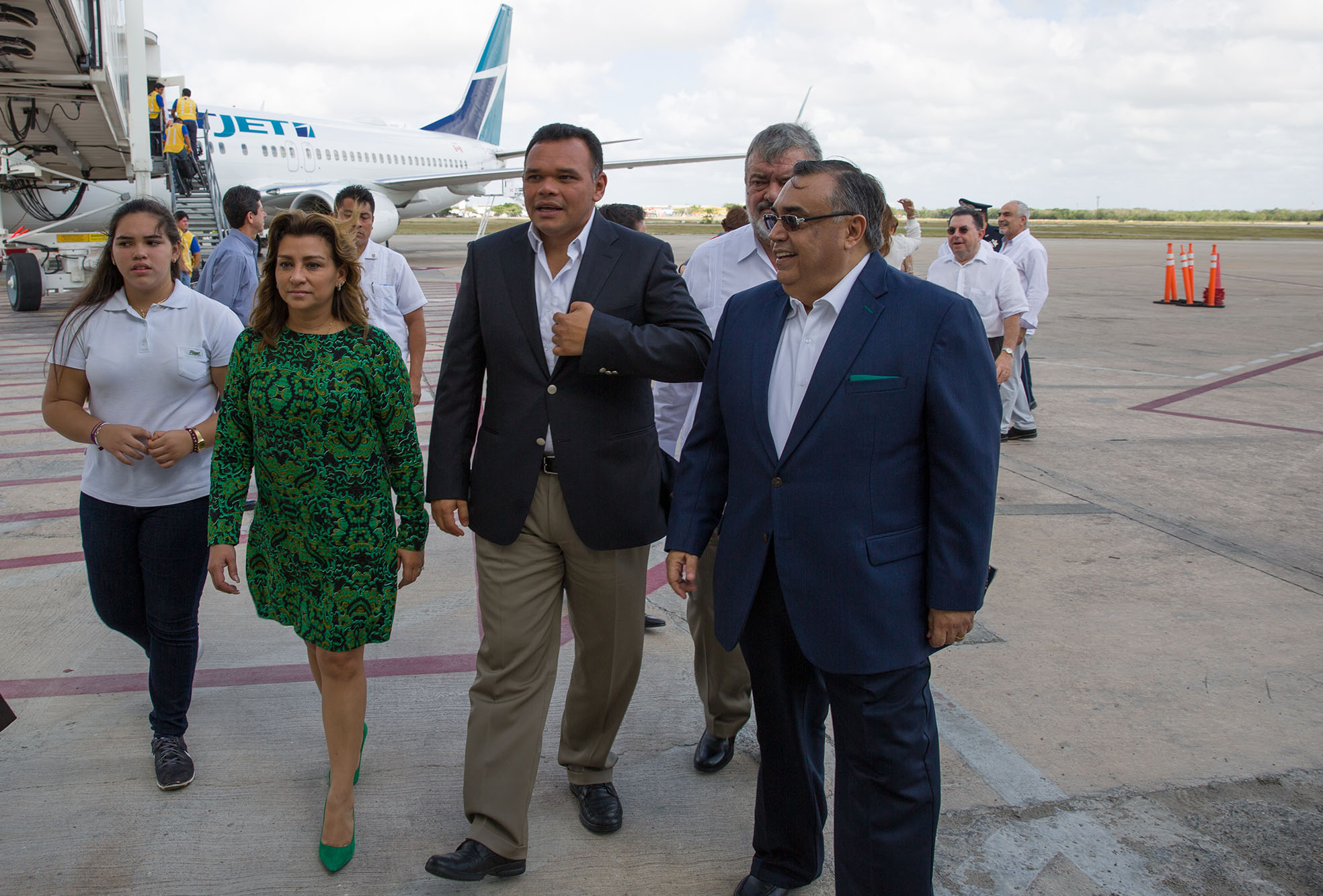 Inicia operaciones nueva ruta Mérida-Toronto