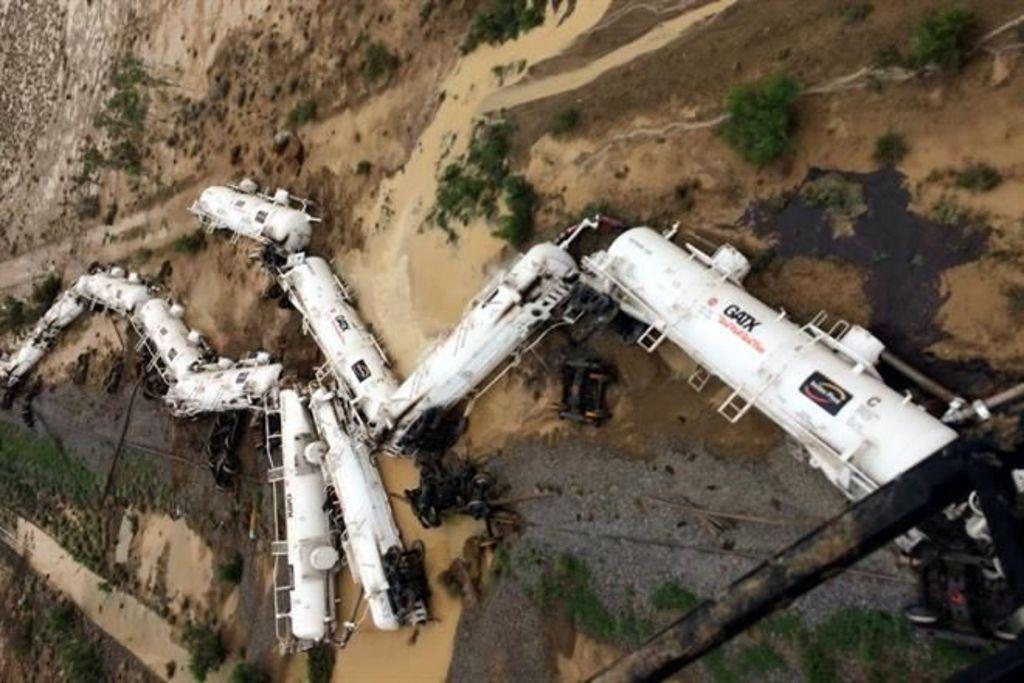 Descarrila en Australia tren con ácido
