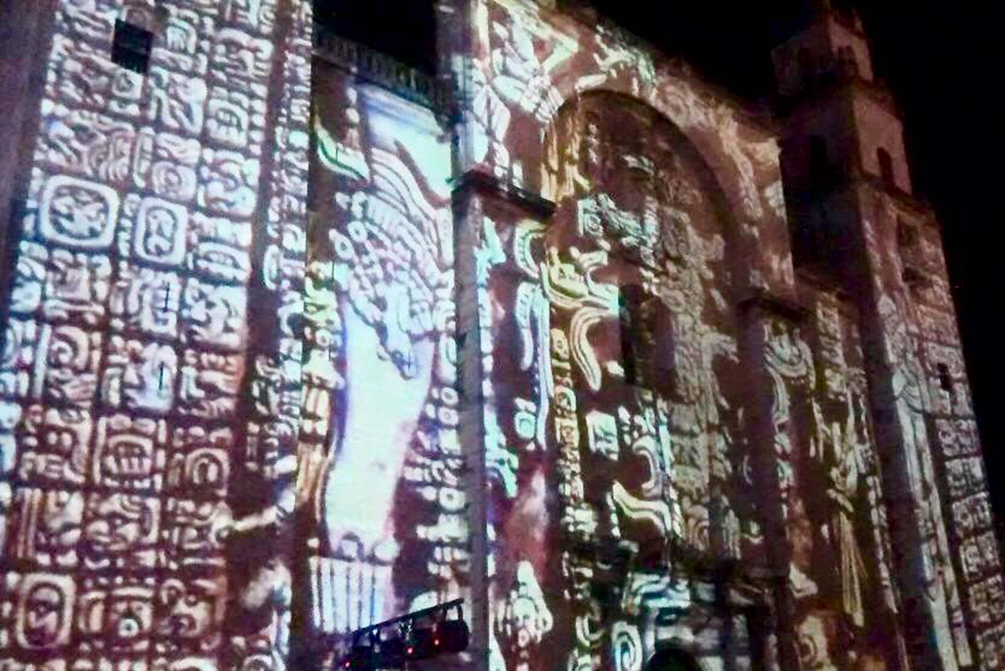 Videomapping de Catedral, en oferta cultural de Mérida