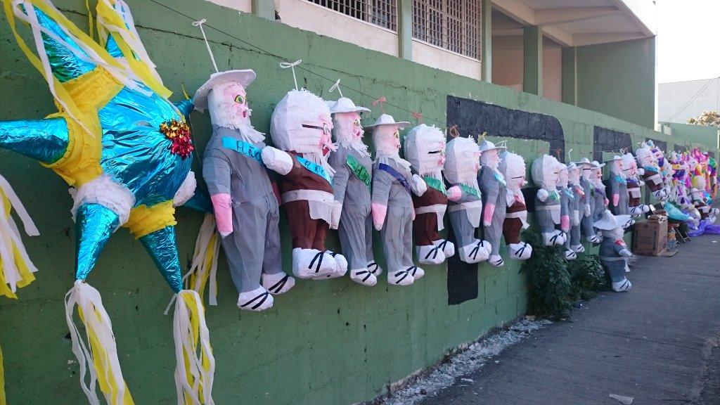 Despedida en Yucatán del 2015 y la quema del viejo