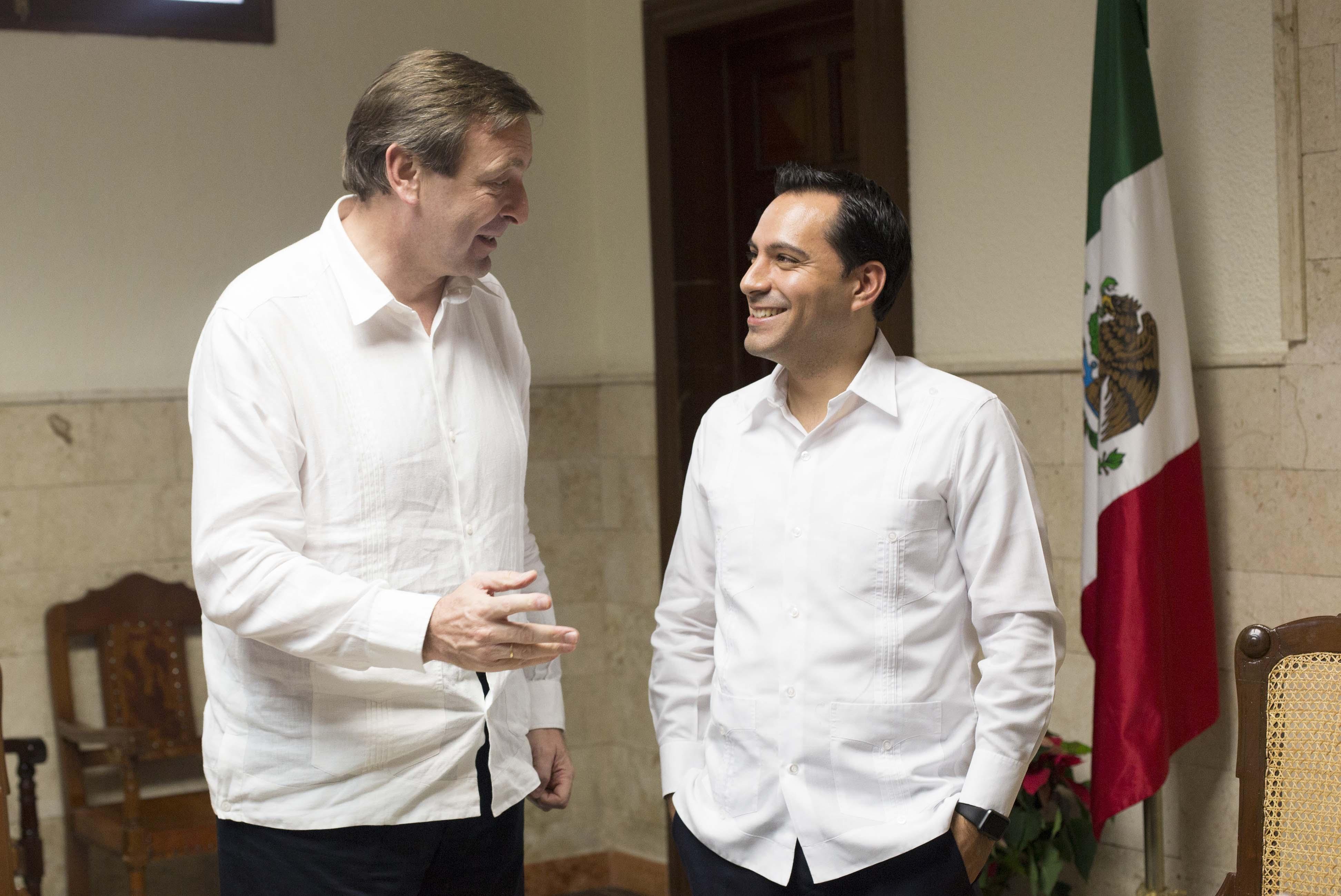 Planes de intercambio entre Méridas de México y España