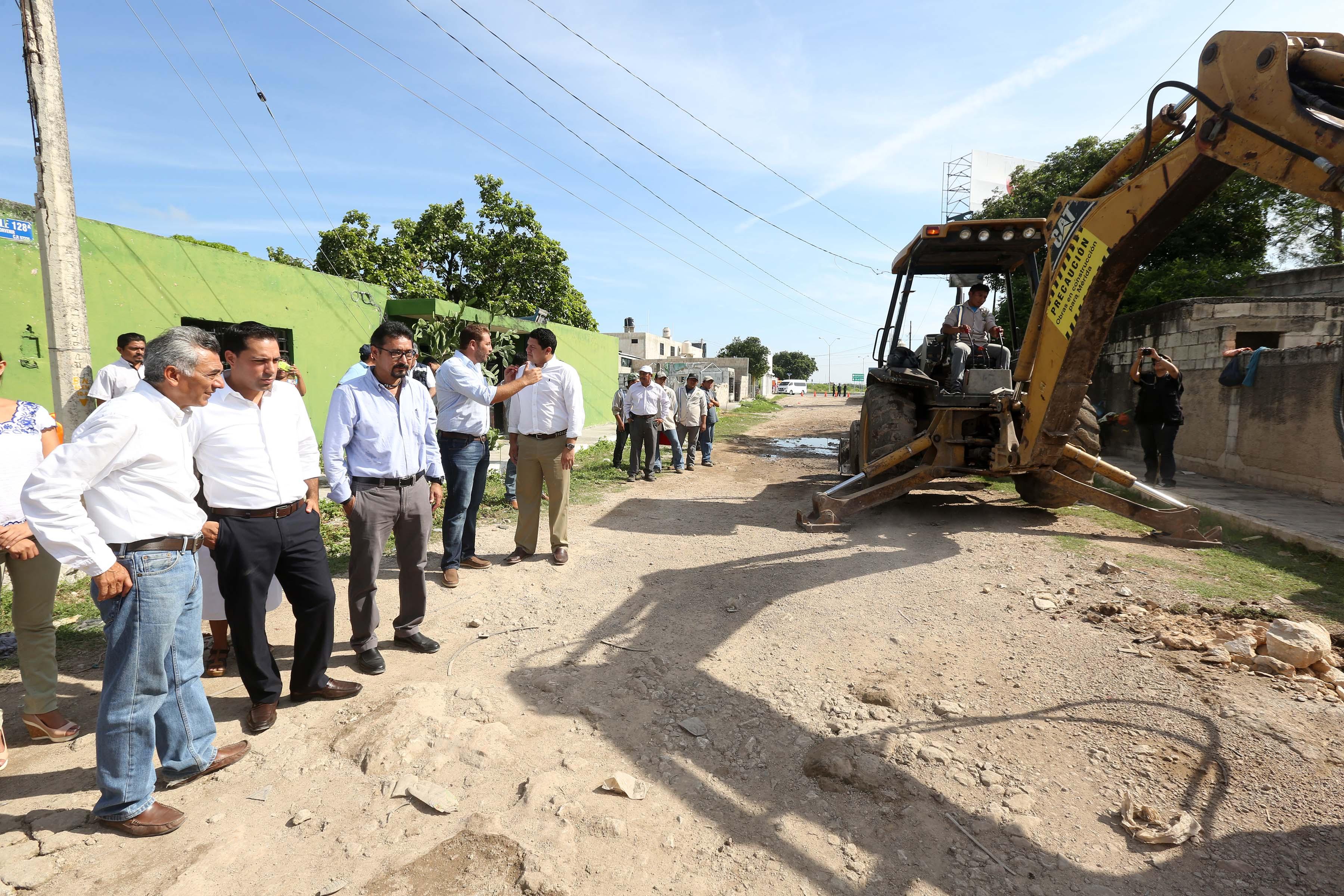 Priorizan obras en zonas de pobreza extrema en Mérida