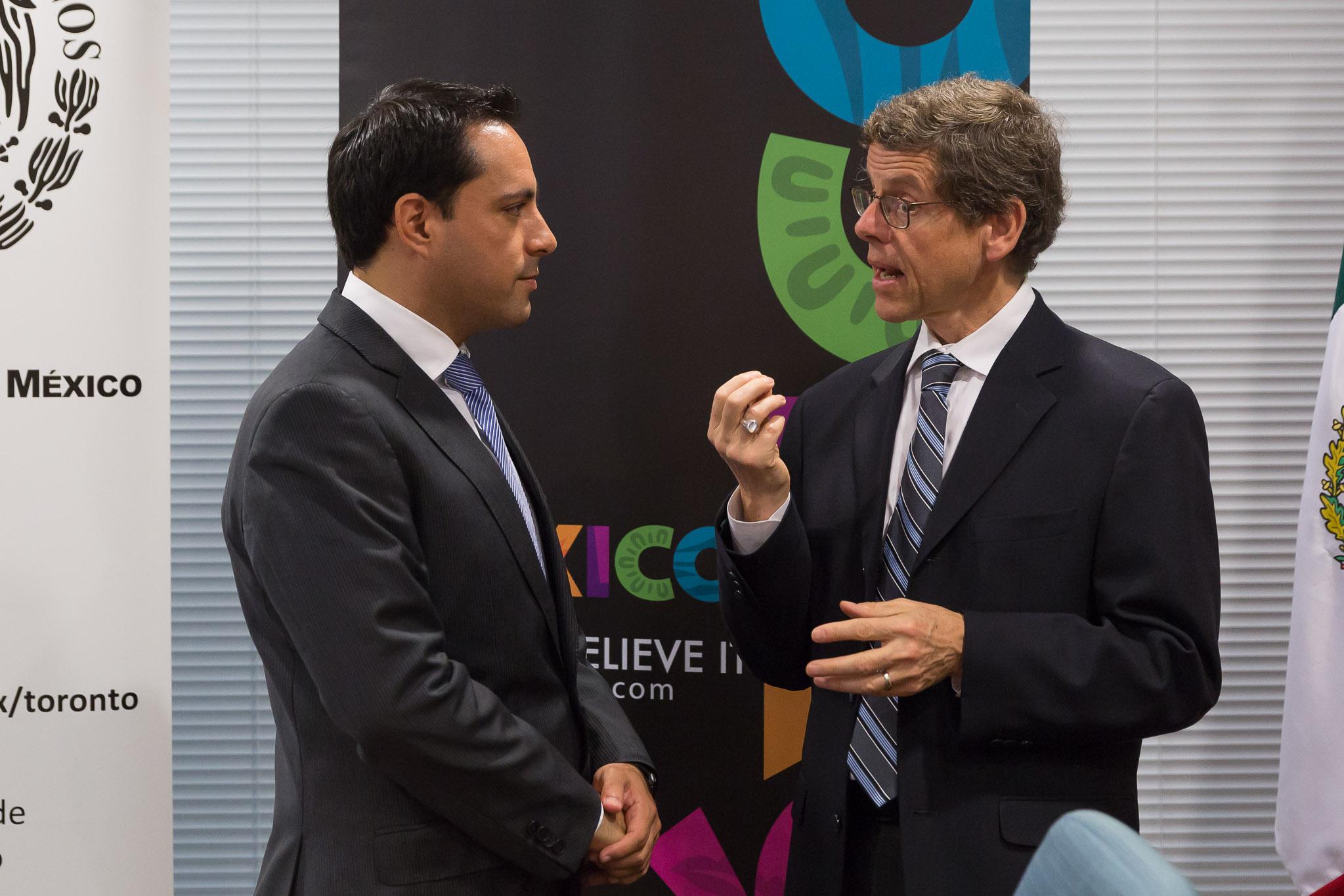 Destacan ventajas competitivas de Mérida en Canadá