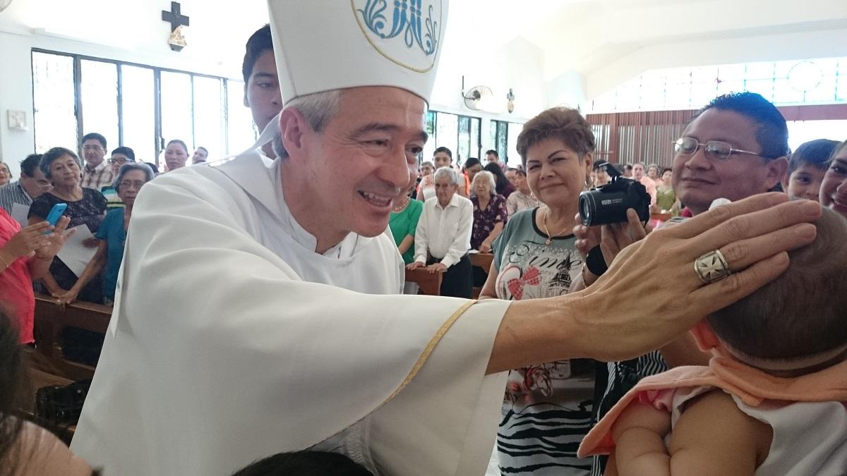 Arzobispo Jorge Carlos Patrón Wong habla de la visita del Papa a México