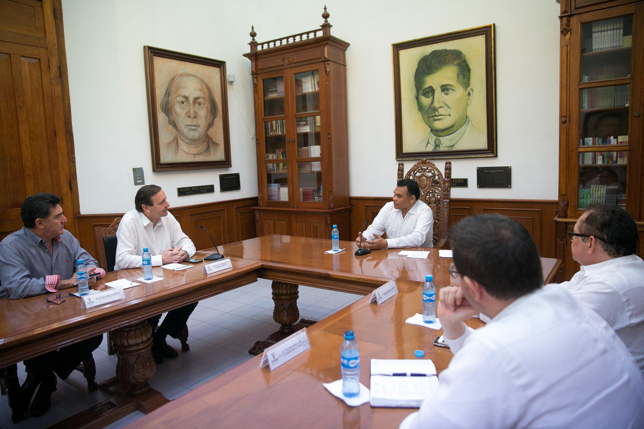 Buscan fortalecer lazos de cooperación entre Yucatán y España
