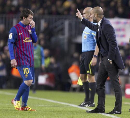 Guardiola quiere 'robarle' al Barça a Messi