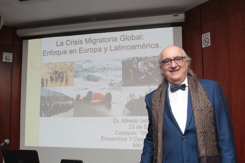 Guerras y crisis económica, detonantes del fenómeno migratorio.- Jalife