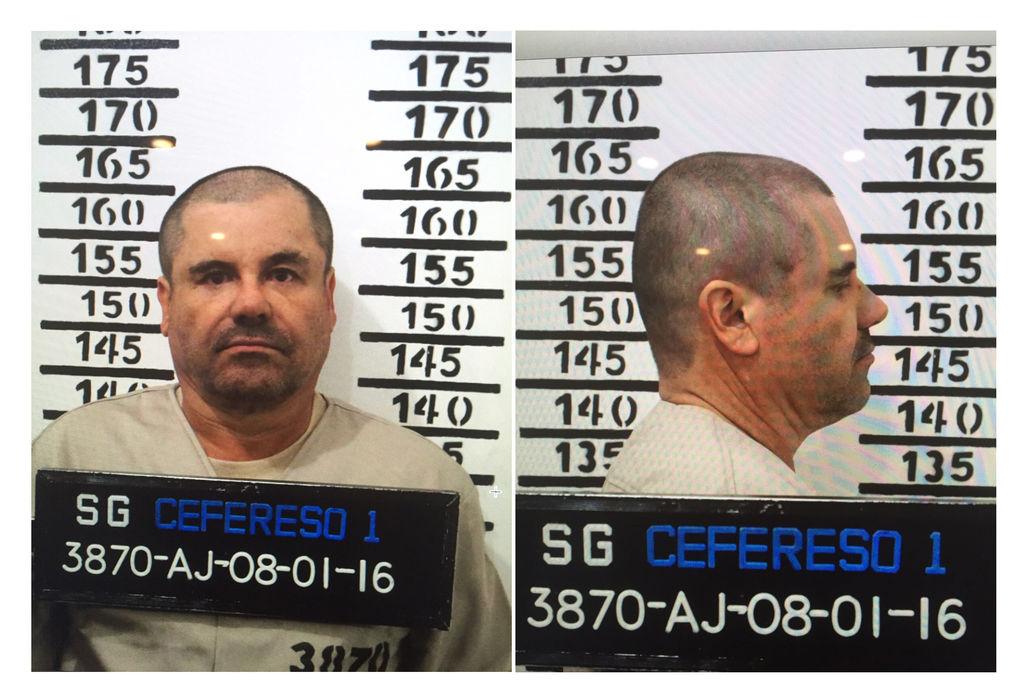 Trasladan al 'Chapo' Guzmán a Cefereso de Juárez