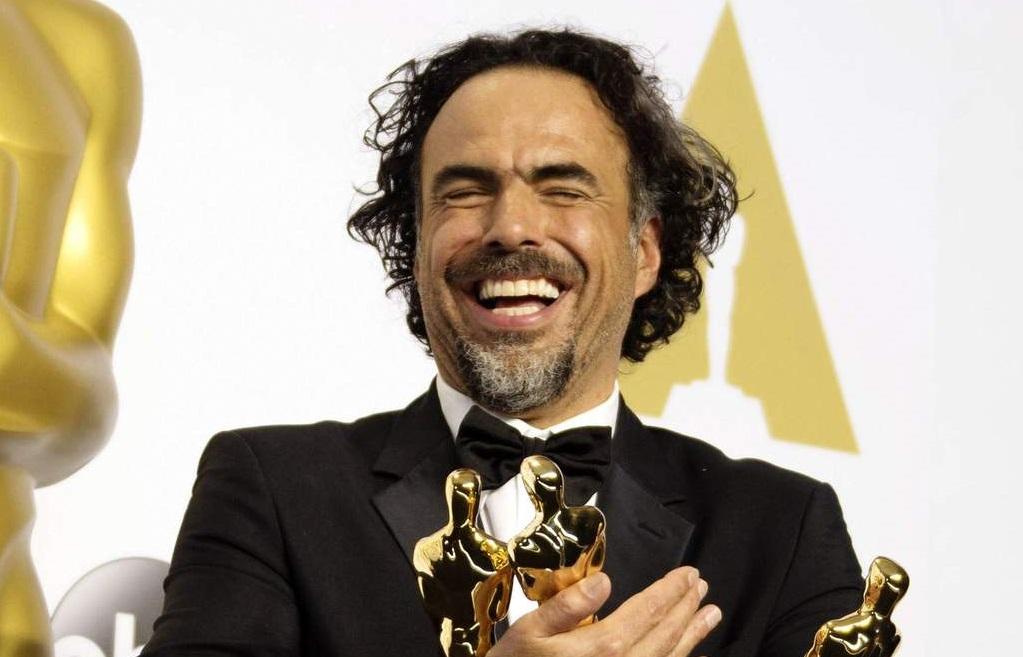 Celebra Iñárritu con champaña y mezcal