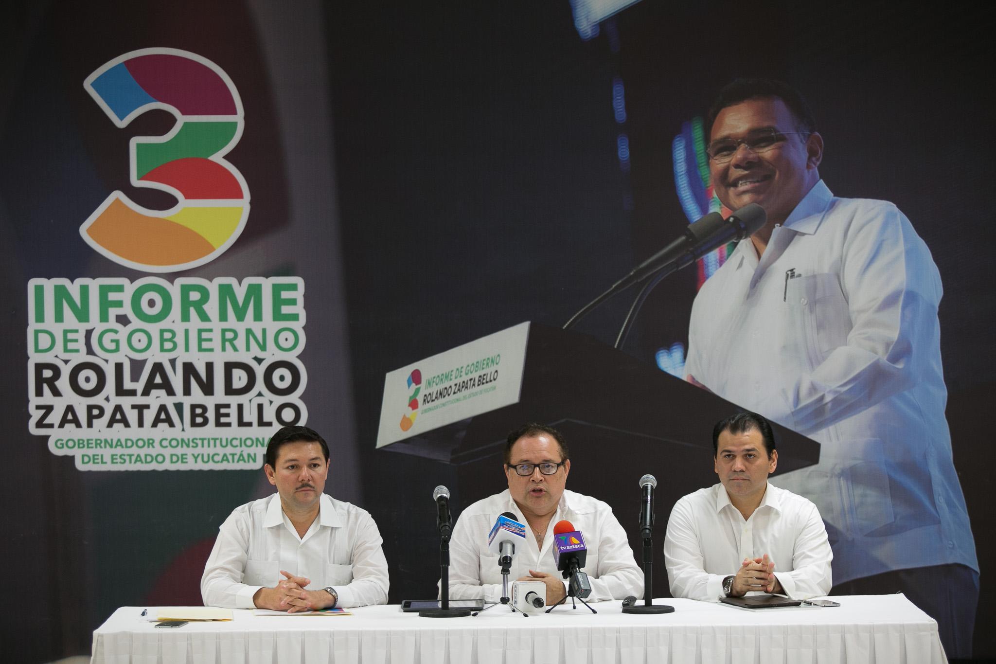 Empleos y salarios en el tercer informe de Yucatán