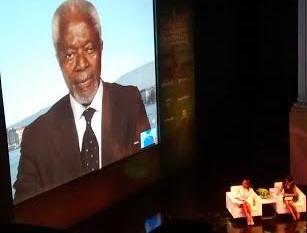 Es hora de que una mujer presida la ONU: Kofi Annan
