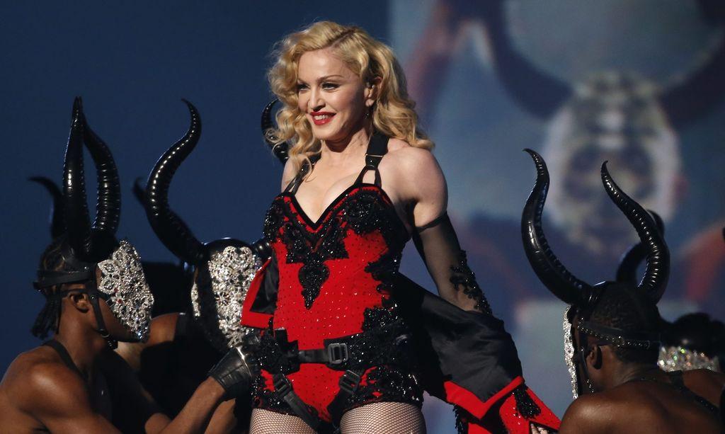 Madonna se reencuentra con su hijo
