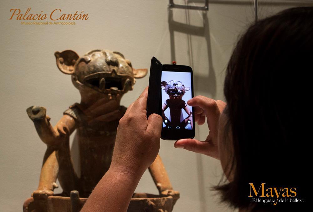 """Últimas semanas en Yucatán de  exposición """"Mayas, el lenguaje de la belleza"""""""