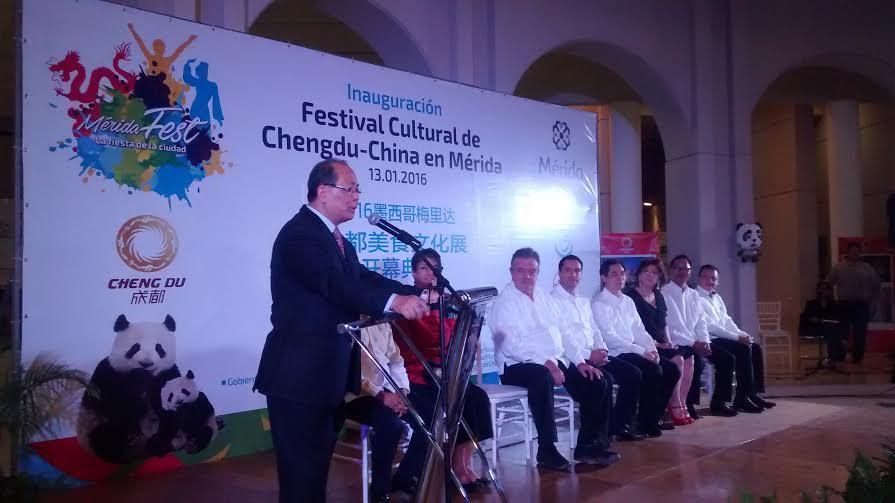 Acuerdo de hermanamiento entre Chengdu, China, y Mérida