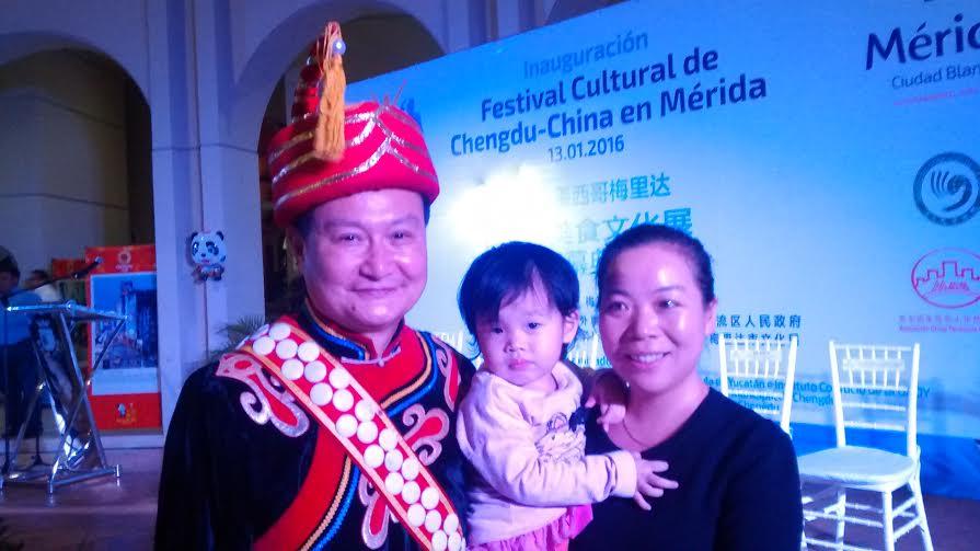 En Chengdú, China, delegación cultural de Mérida