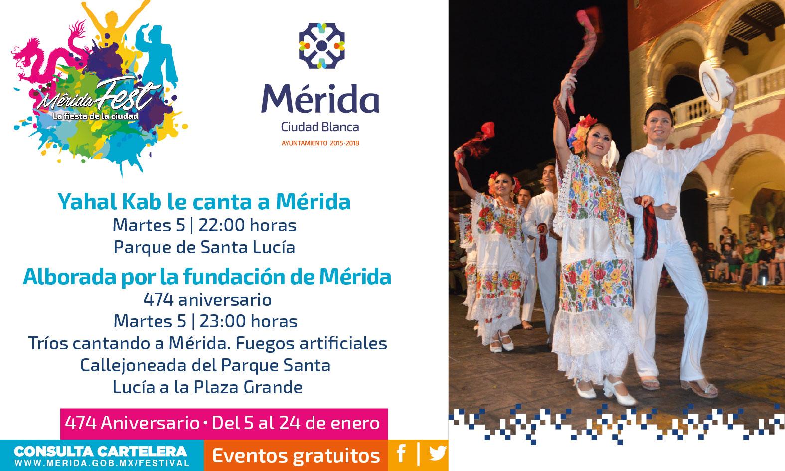 Mérida Fest: Tributo a la capital de Yucatán
