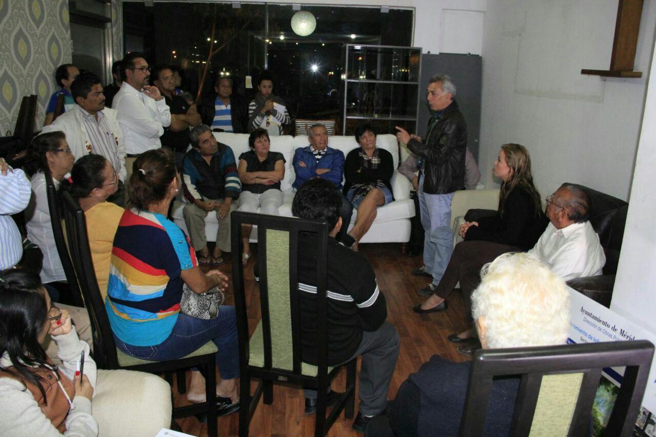 Exponen a proyecto a colonos de Cordemex y Montes de Amé