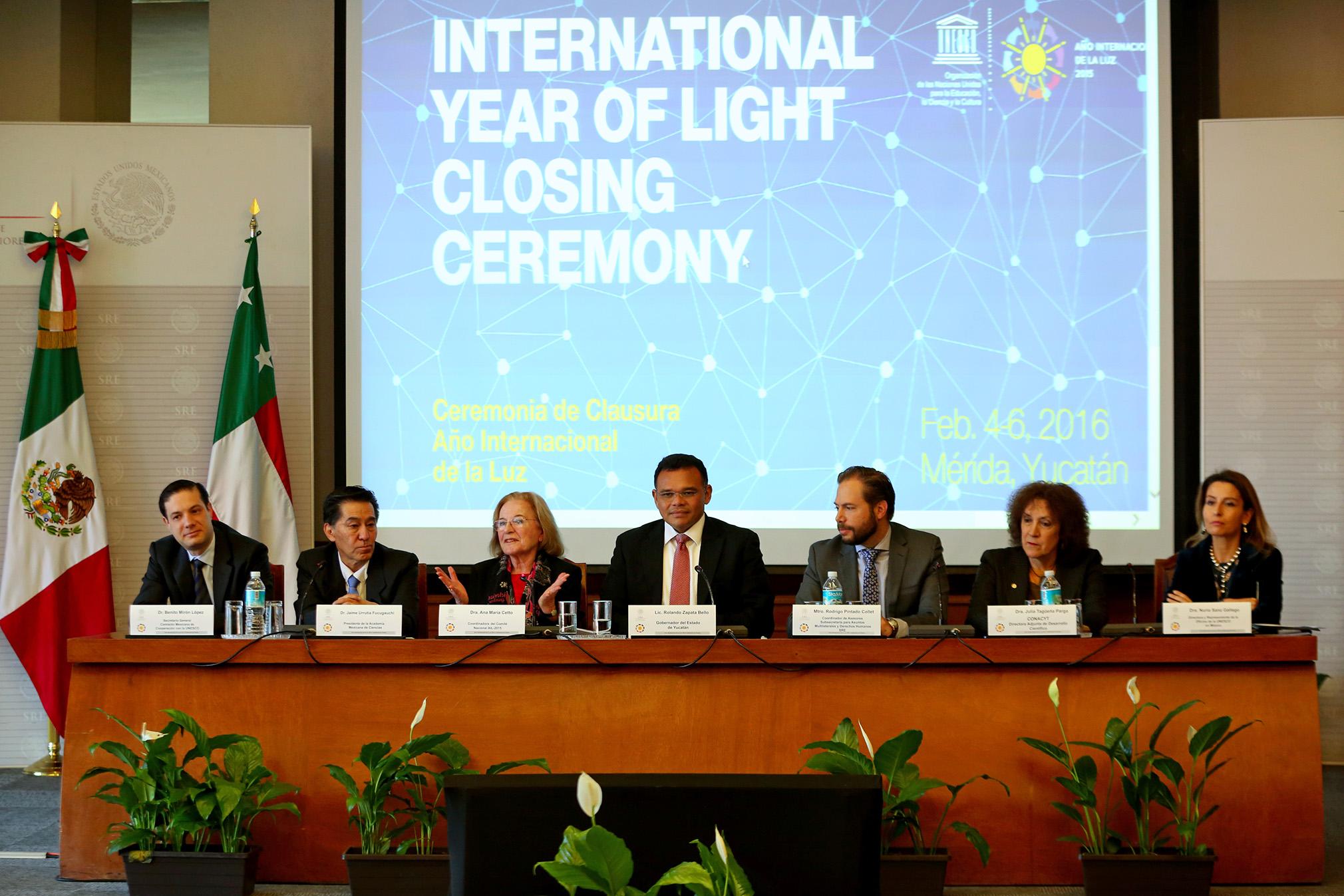 Yucatán, sede de clausura del Año Internacional de la Luz
