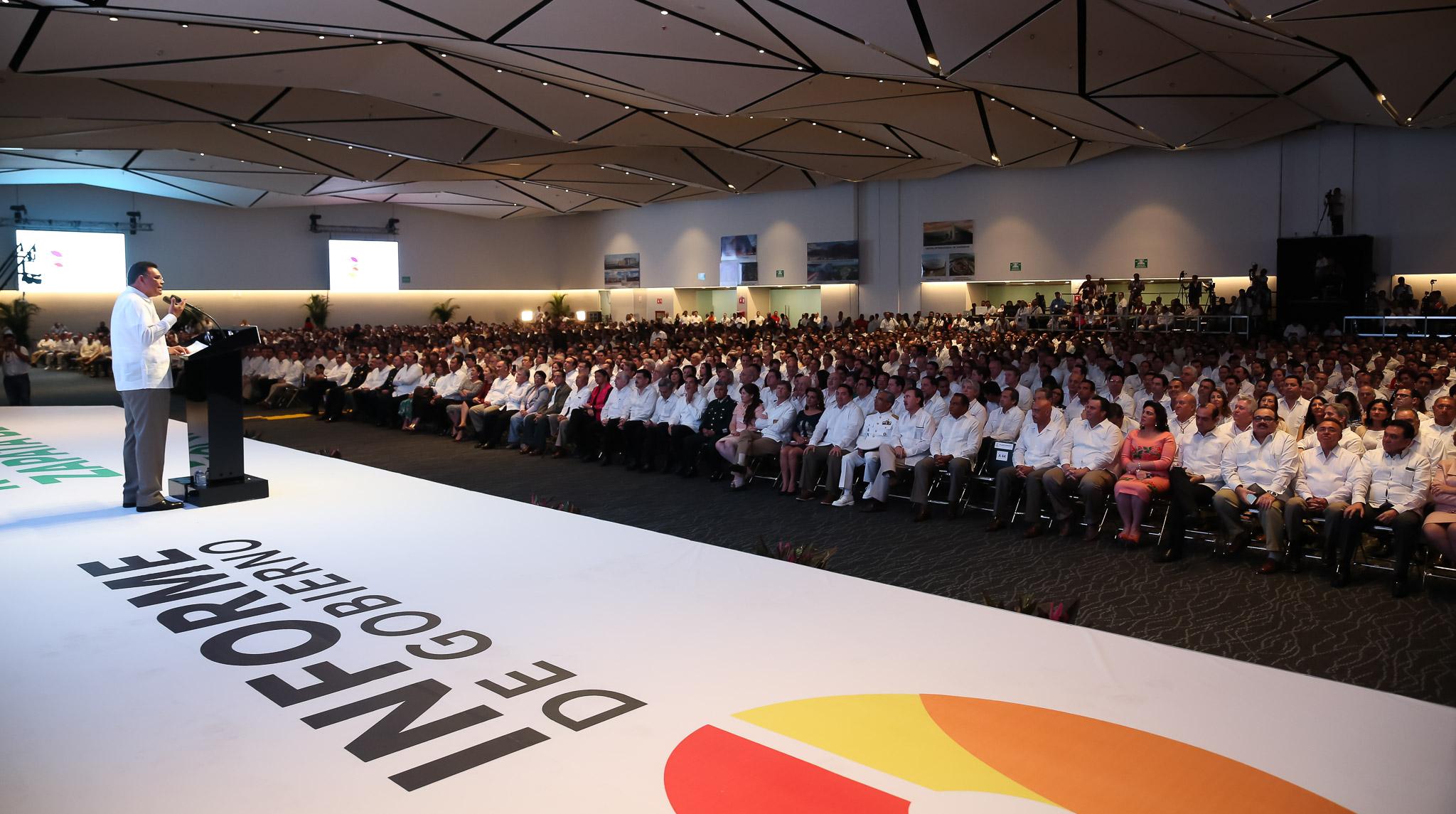Tercer Informe de Gobierno en Yucatán