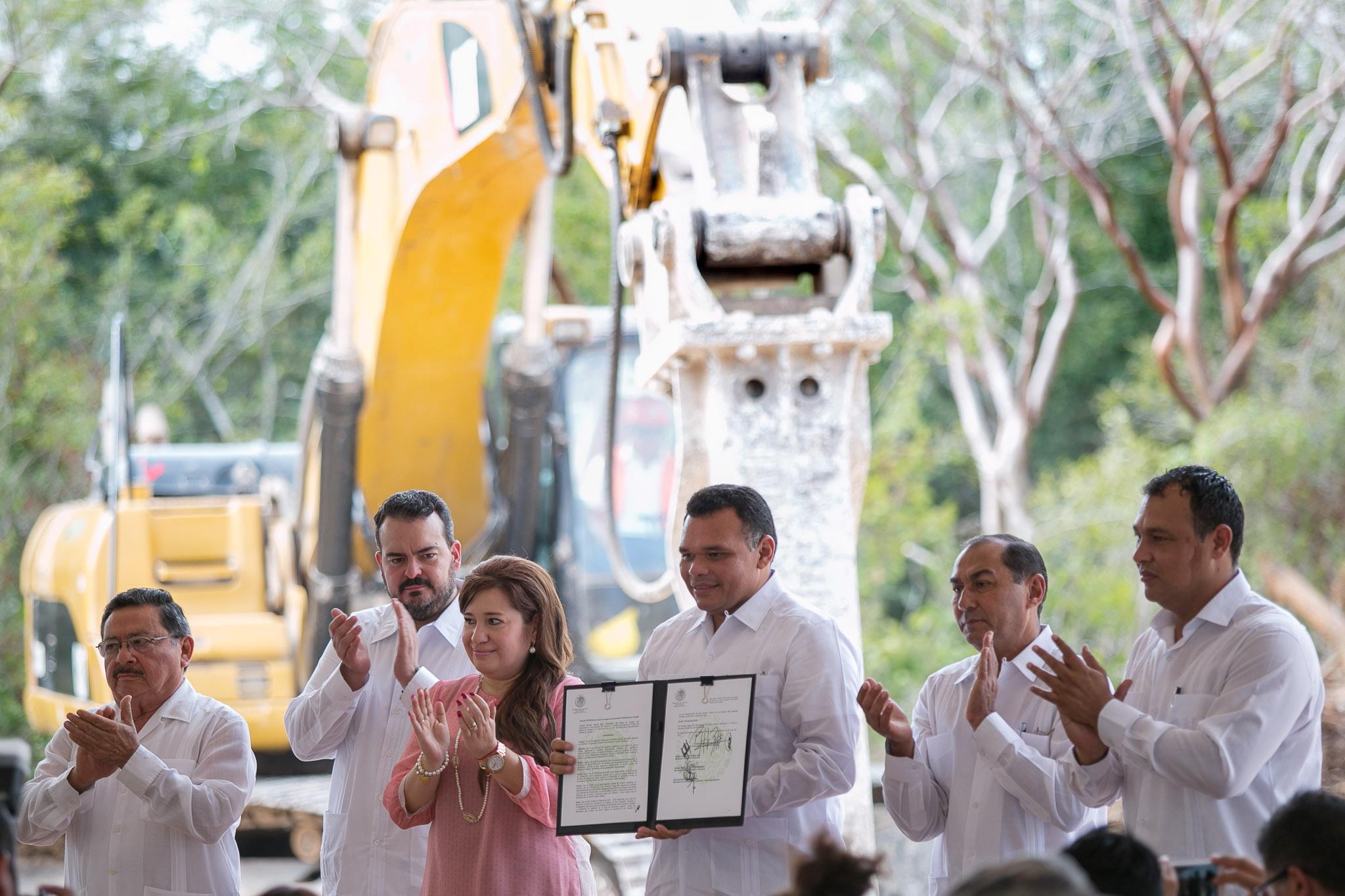 En marcha trabajos de construcción de Universidad Politécnica de Yucatán