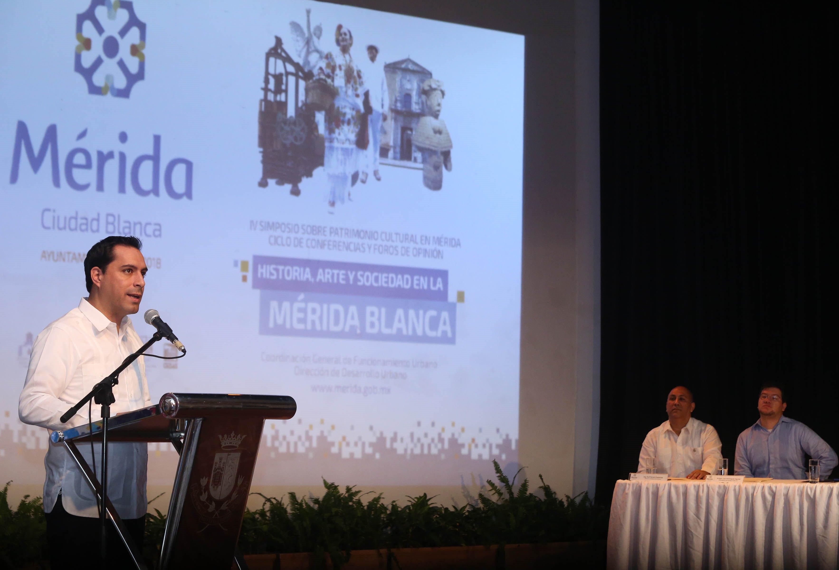 Inauguran en Merida IV Simposio sobre Patrimonio Cultural