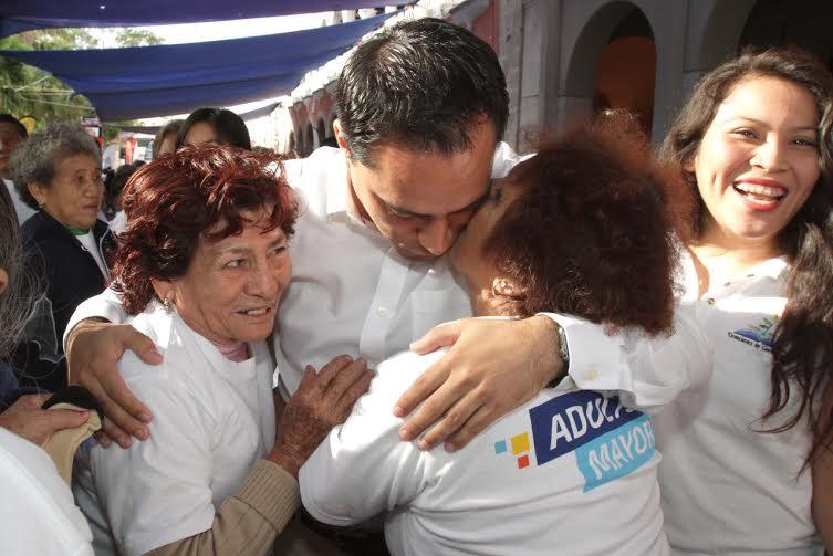 """Anuncia Vila Centro Integral para Plenitud del Adulto Mayor """"Renacer"""""""
