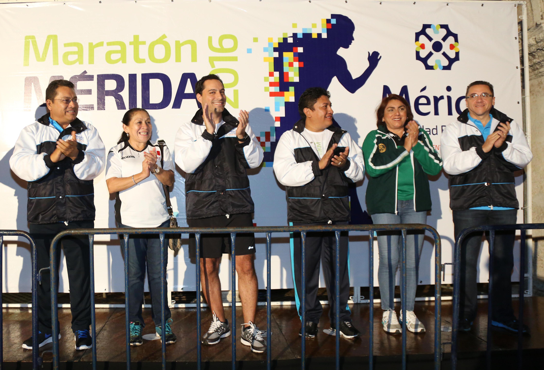 Va Mérida por mayor presencia de Maratón