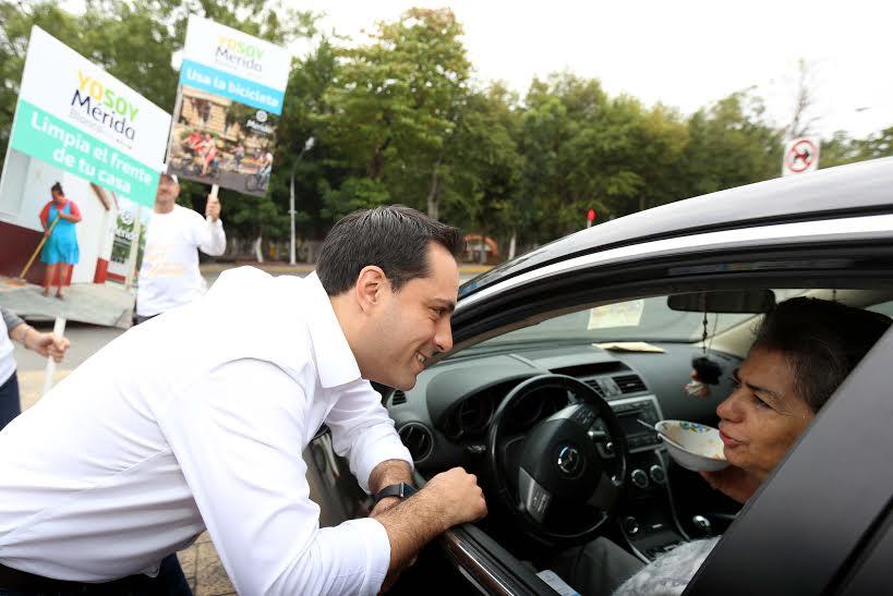 """""""Hagamos que Mérida sea única"""".- Vila Dosal"""