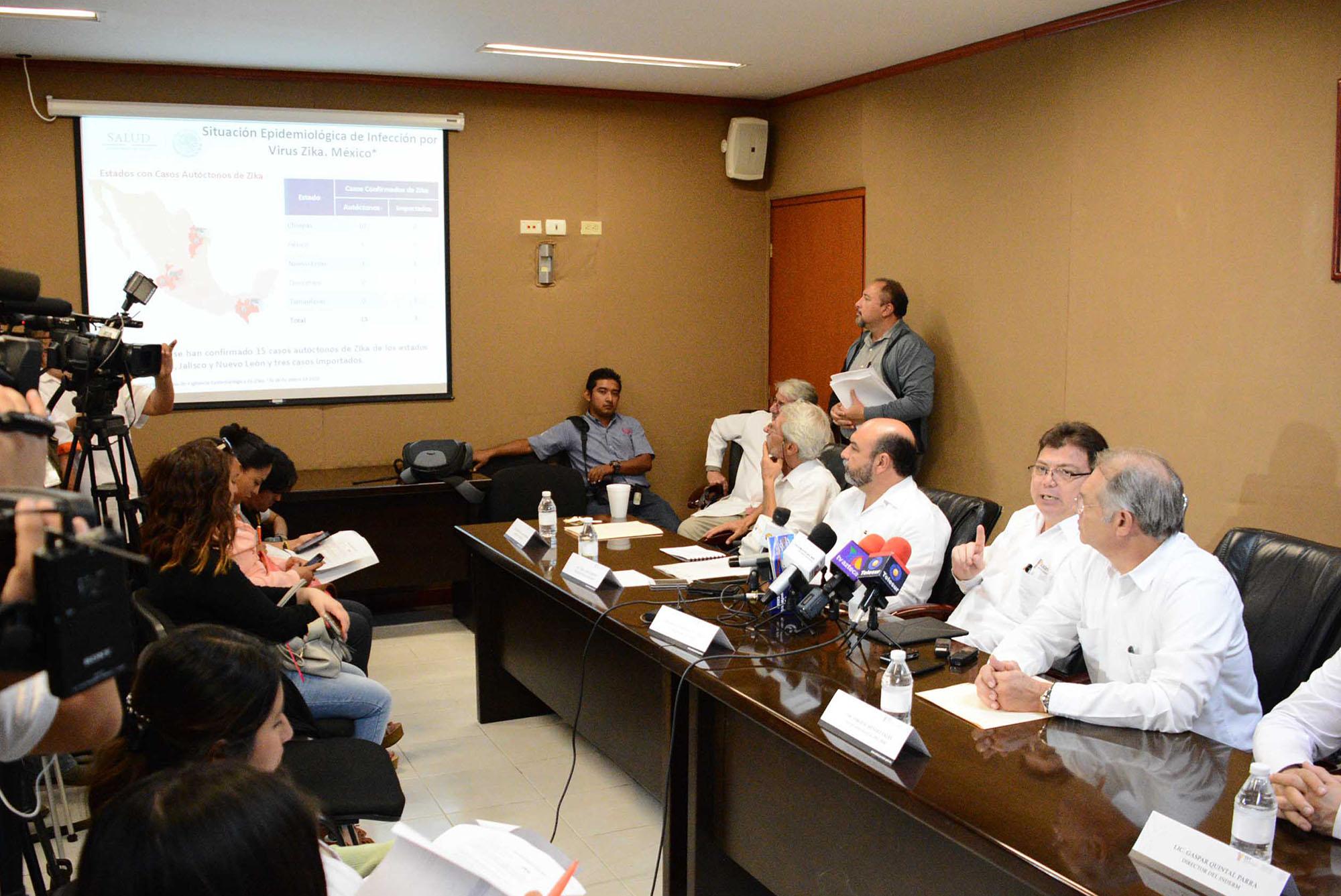 El zika moviliza al sector salud