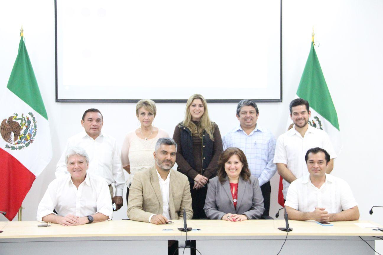 Intercambio de experiencias legislativas entre Francia y Yucatán