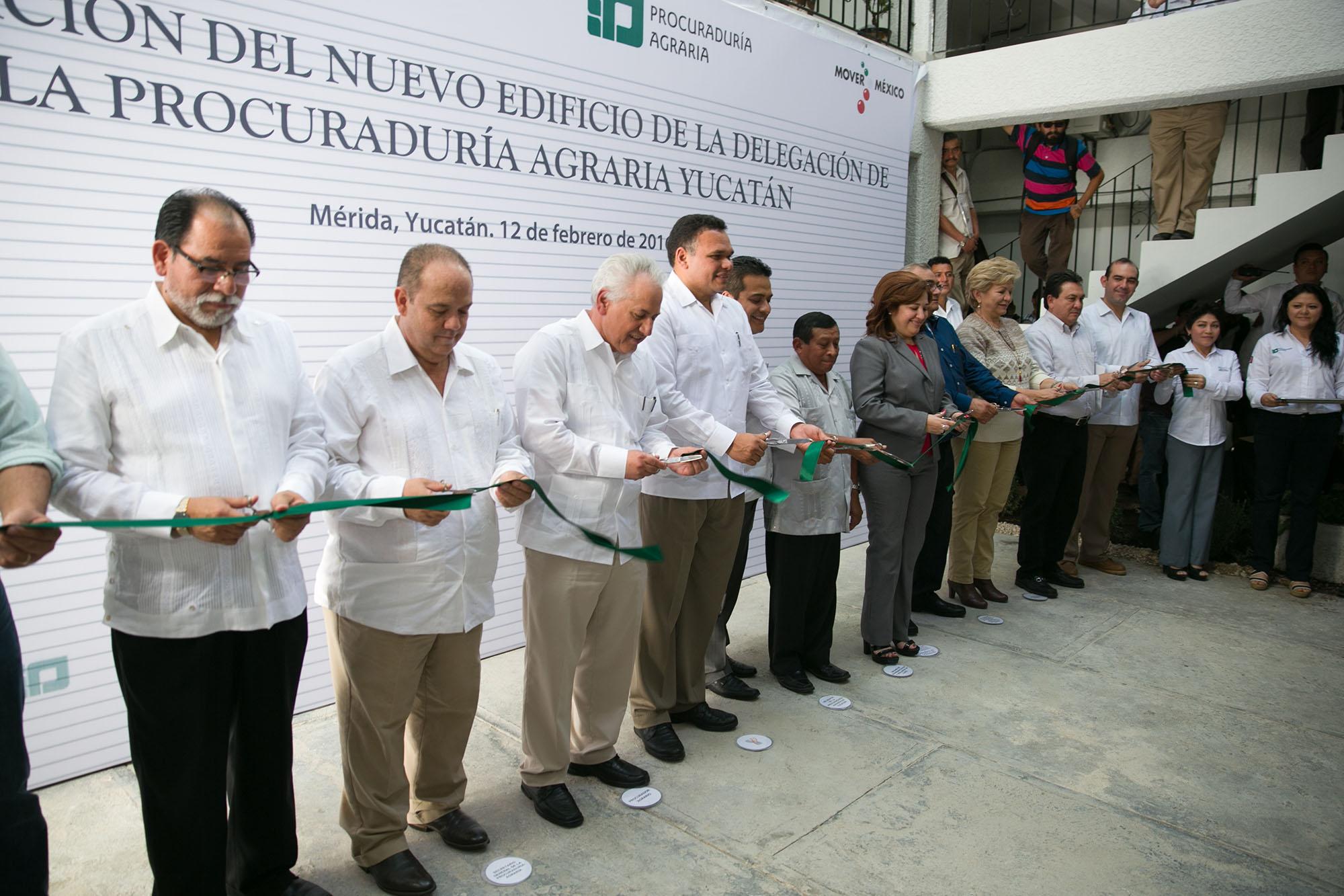 Inauguran nuevo edificio de delegación de Procuraduría Agraria en Yucatán