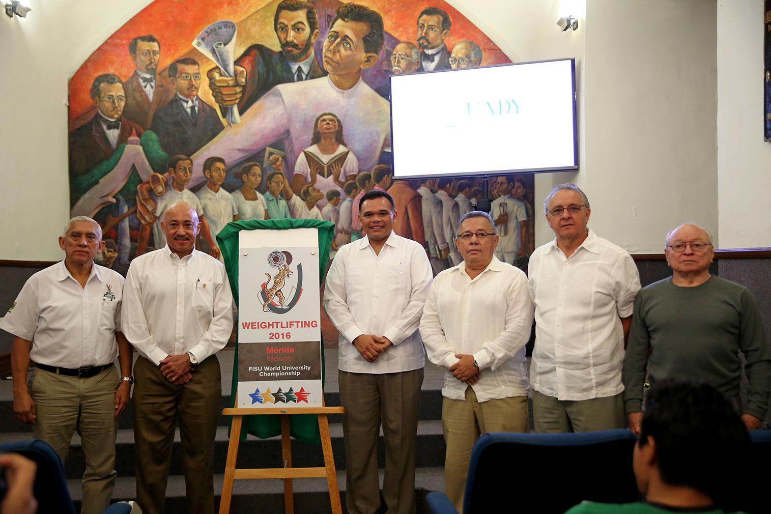 Élite de halteristas universitarios estará en Yucatán